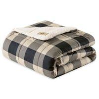 Woolrich Linden Throw Blanket in Tan