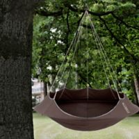 Vivere Lullio Single Hammock in Taupe