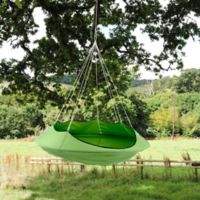 Vivere Lullio Double Hammock in Green