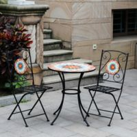 Winsome House™ 3-Piece Mosaic Bistro Set
