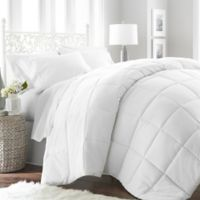 Home Collection All Seasons Down Alternative Twin Comforter in White