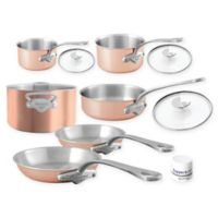 Mauviel 1830® M'3s Tri-Ply Copper 10-Piece Cookware Set