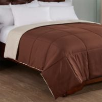 Peace Nest Reversible Down Alternative Full/Queen Comforter in Brown