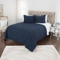 Rizzy Home Simpson Queen Quilt Set in Blue