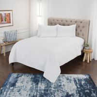 Rizzy Home Simpson King Quilt Set in White