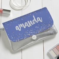 Sparkling Name Personalized Wristlet