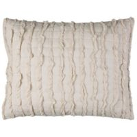 Rizzy Home Annalise Standard Pillow Sham in Tan