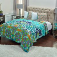 Rizzy Home Gabby King Quilt in Blue