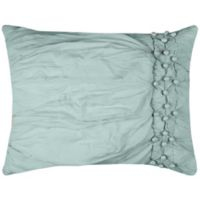 Rizzy Home Chelsea King Pillow Sham in Blue