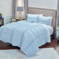 Rizzy Home Kassedy King Quilt in Blue