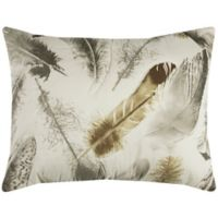 Rizzy Home Feathered Nest Standard Pillow Sham in Beige