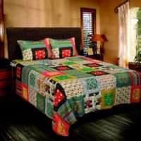 Rizzy Home Charleston Queen Quilt in Maroon
