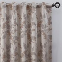 Jenna 84-Inch Rod Pocket/Back Tab Window Curtain Panel in Pearl