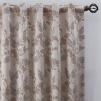 Jenna 63-Inch Rod Pocket/Back Tab Window Curtain Panel in Pearl