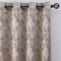 Jenna 63-Inch Grommet Window Curtain Panel in Pearl
