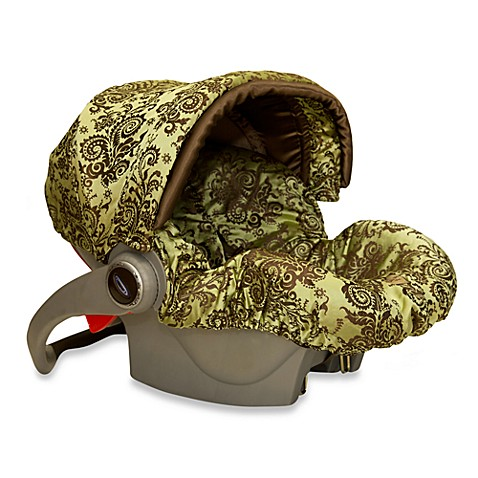 Baby Bella Maya™ Infant Car Seat Cover in Caramel Apple Swirl - Bed ...