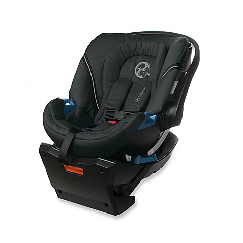 cybex aton infant car seat in classic black buybuy baby. Black Bedroom Furniture Sets. Home Design Ideas