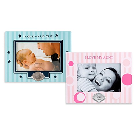 I Love My Uncle & Aunt Picture Frames - buybuy BABY