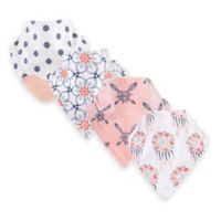 Yoga Sprout® 12-Pack Dream Catcher Bandana Bib with Teether in Pink