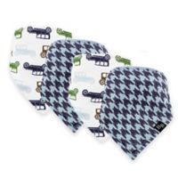Hudson Baby® 12-Pack Cars Bandana Bib in Blue