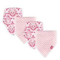 Hudson Baby® 12-Pack Ikat Bandana Bibs in Pink