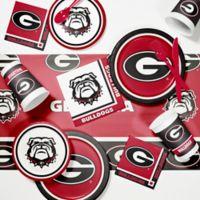 University of Georgia 89-Piece Game Day Party Supplies Kit