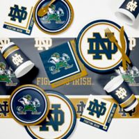 University of Notre Dame 89-Piece Game Day Party Supplies Kit