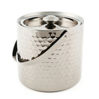 Cambridge Silversmiths™ 3 qt. Faceted Stainless Steel Ice Bucket