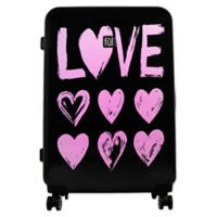 ful® Love 21-Inch Hardside Spinner Carry On Luggage in Pink/Black