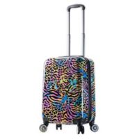 Mia Viaggi Pop Animal Paint 20-Inch Carry On Luggage
