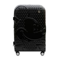 ful® Textured Mickey Mouse 25-Inch Hard Sided Rolling Luggage