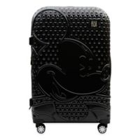 ful® Textured Mickey Mouse 29-Inch Hard Sided Rolling Luggage