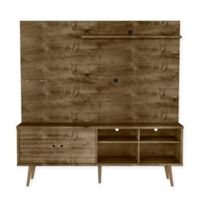 Manhattan Comfort Liberty 70-Inch Entertainment Center in Rustic Brown
