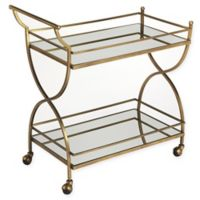 Butler Loft Bar Cart in Gold