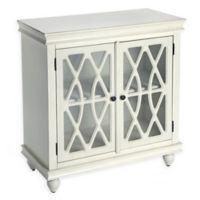 Masterpiece 2-Door Storage Cabinet in Off-White