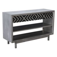 Zuo® Raven Console Table in Old Grey