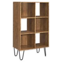 Fairlawn Book Case in Rustic Amber