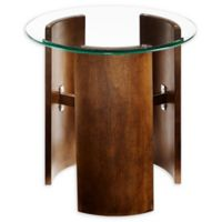 Holly & Martin® Circk Round Side Table in Dark Tobacco