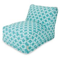 Majestic Home Goods Links Bean Bag Chair Lounger in Teal