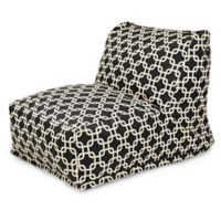 Majestic Home Goods Links Bean Bag Chair Lounger in Black