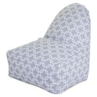Majestic Home Goods Links Bean Bag Kick-It Chair in Grey