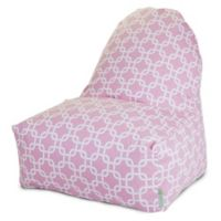 Majestic Home Goods Links Bean Bag Kick-It Chair in Pink