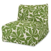 Majestic Home Goods Plantation Bean Bag Chair Lounger in Sage
