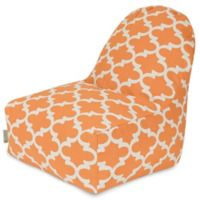 Majestic Home Goods Trellis Bean Bag Kick-It Chair