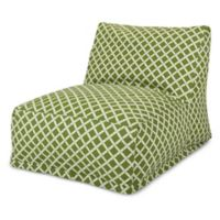 Majestic Home Goods Bamboo Bean Bag Chair Lounger in Sage