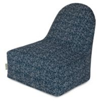 Majestic Home Goods South West Bean Bag Kick-It Chair in Navy