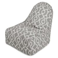 Majestic International Kick-It Athens Bean Bag Chair in Grey