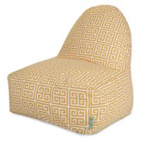 Majestic International Kick-It Towers Bean Bag Chair in Citrus