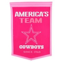 NFL Dallas Cowboys Football for Her Banner