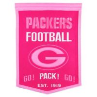 NFL Green Bay Packers Football for Her Banner